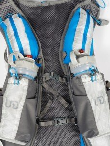 Chest straps on Ultimate Direction PB Adventure Vest 2.0