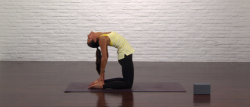 Yoga For Runners Camel Pose