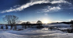 Dawn in a Snowy Cairngorms, Highlands