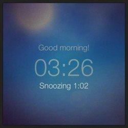 Early Morning Alarm