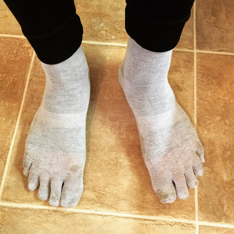 Review Of Injinji Liner Crew Socks - Ultrarun.in