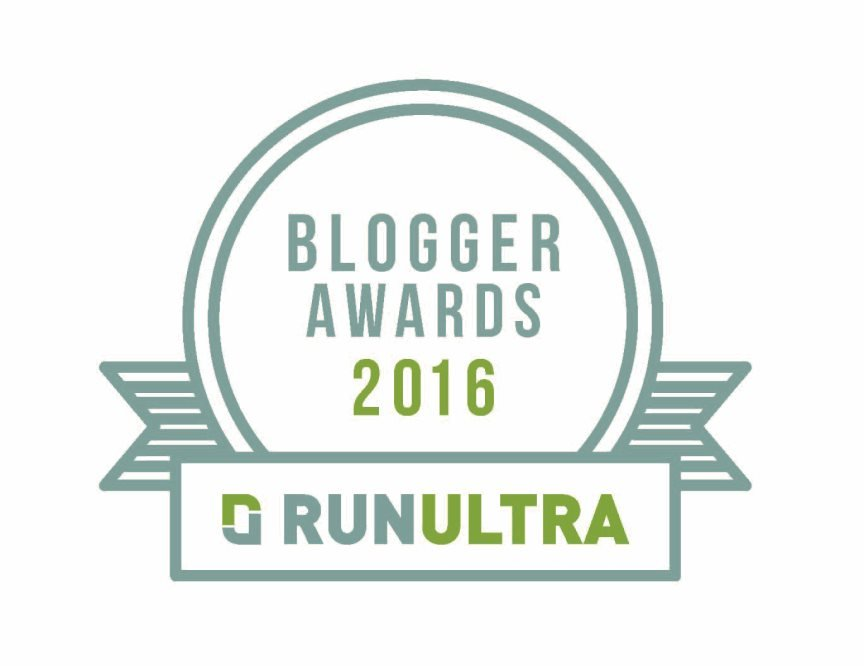 RunUltra Blogger of the Year Award 2016